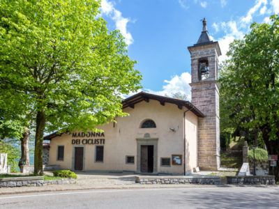 The Sanctuary at Colle Gallo dedicted to the Madonna of the Snow
